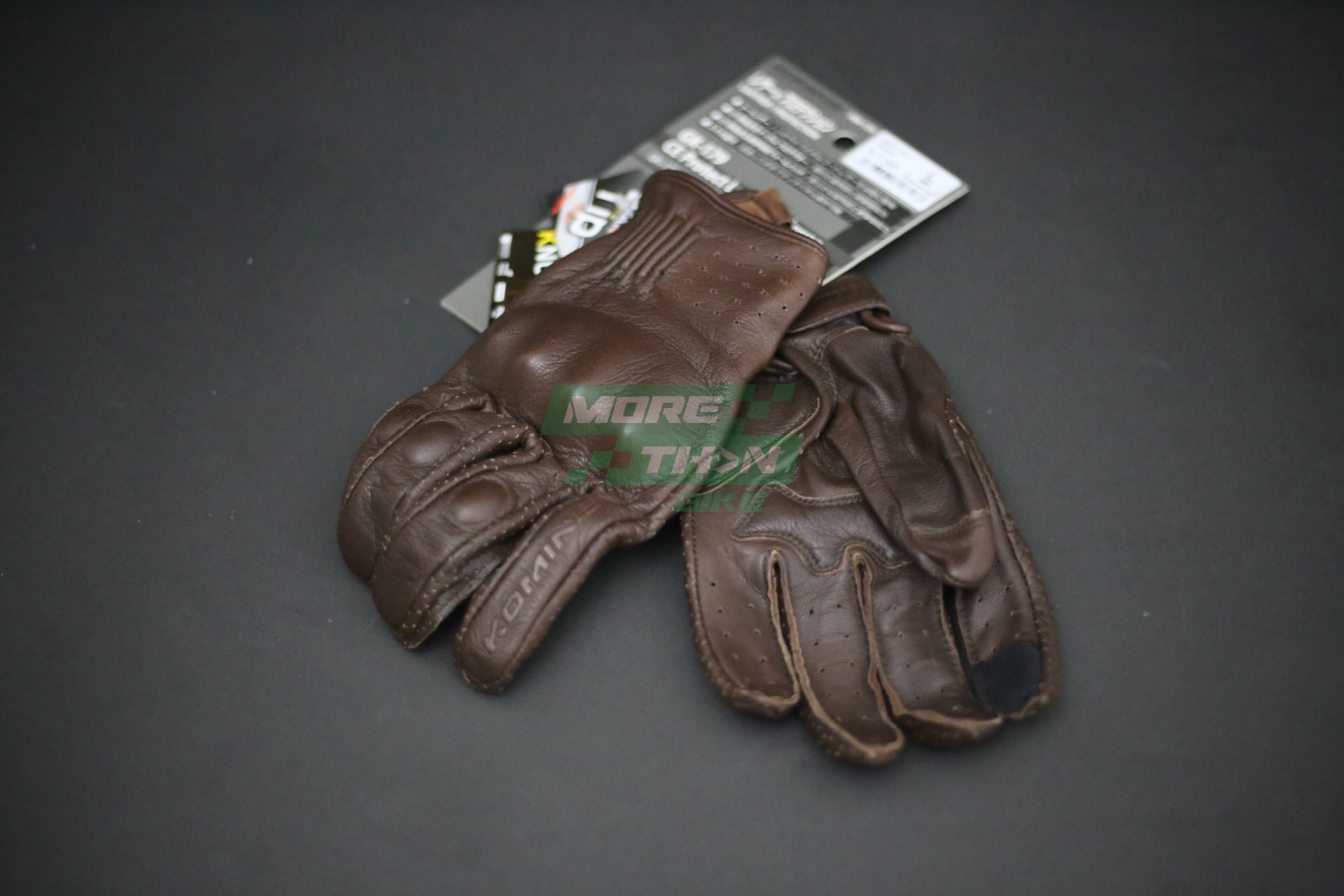 KOMINE GK-179 CE Protect Leather Gloves 1