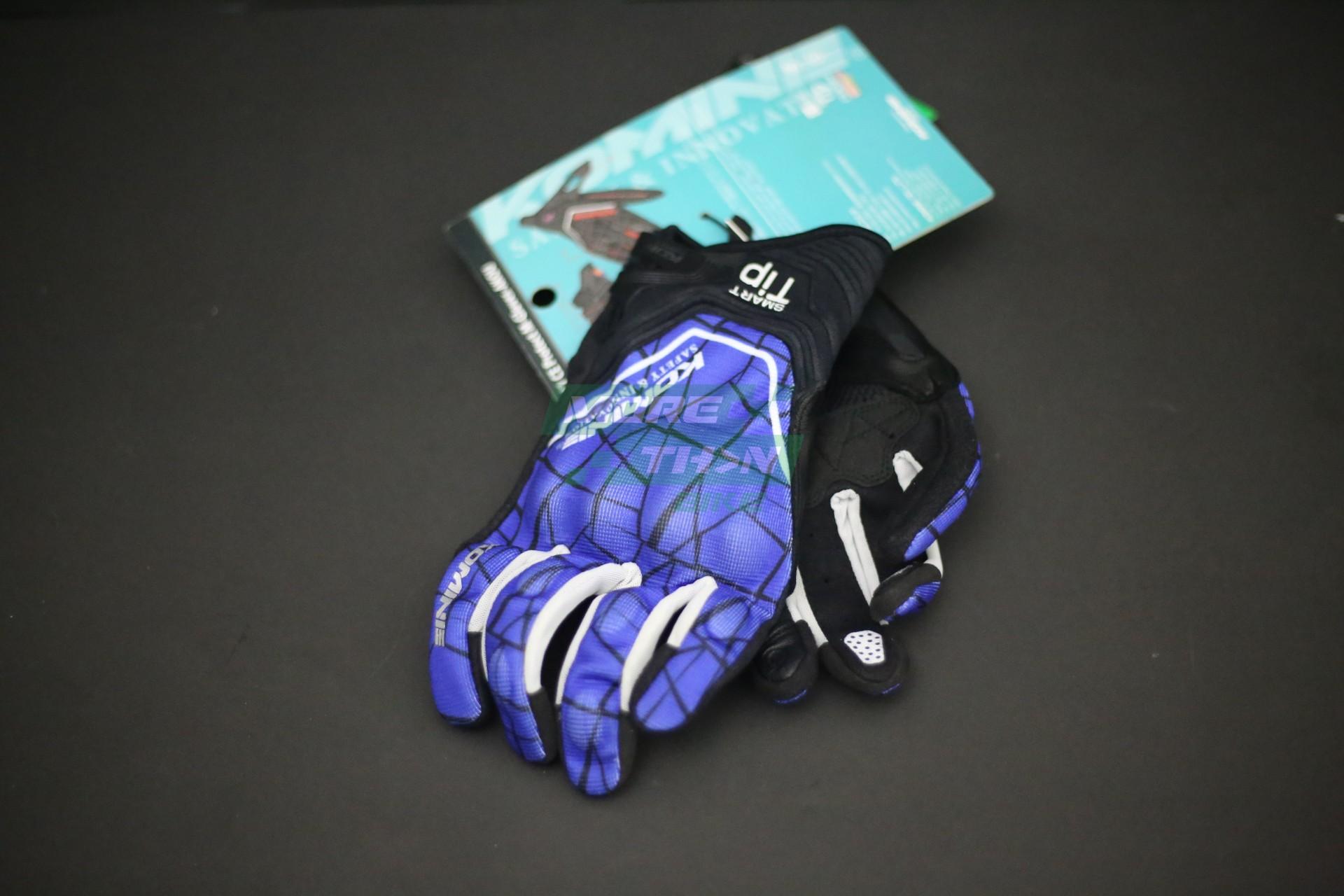 KOMINE GK-191 CE Protect Mesh Gloves Blue 2