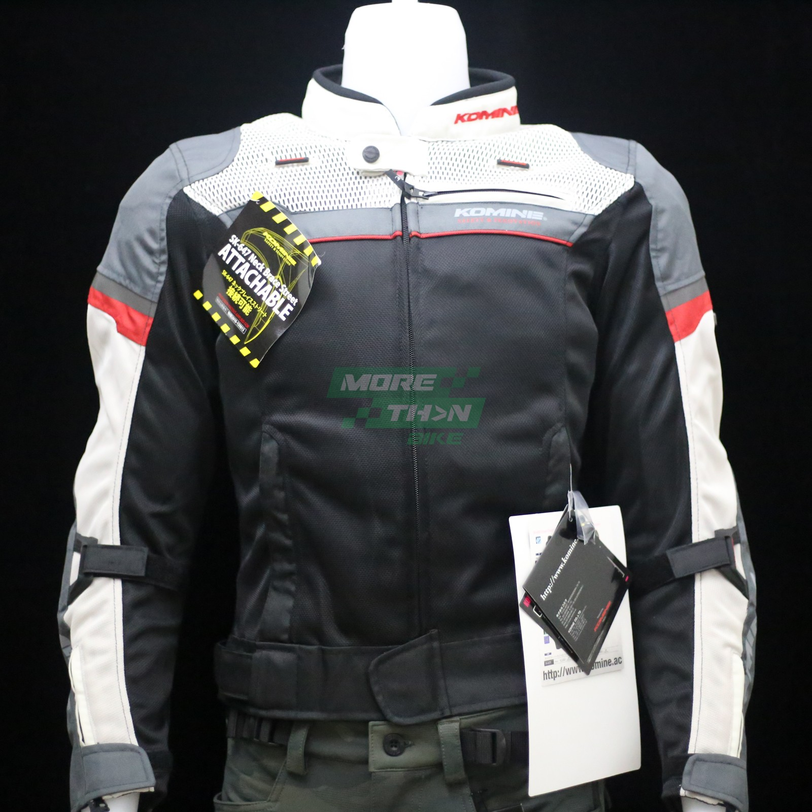 KOMINE JK-093 Air Stream Mesh Jacket Cordova 1