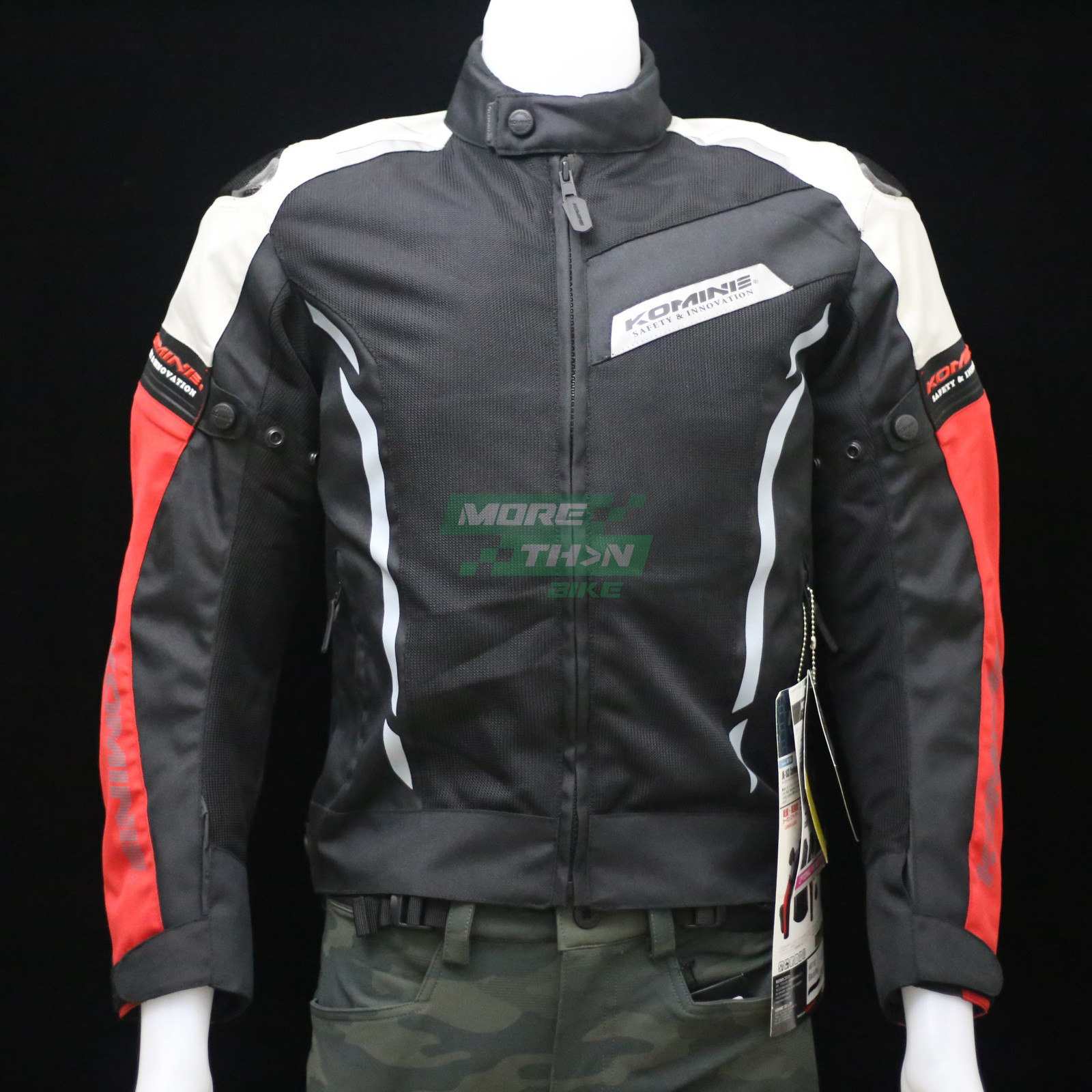 KOMINE JK-103 Carbon Protect Mesh Jacket 1