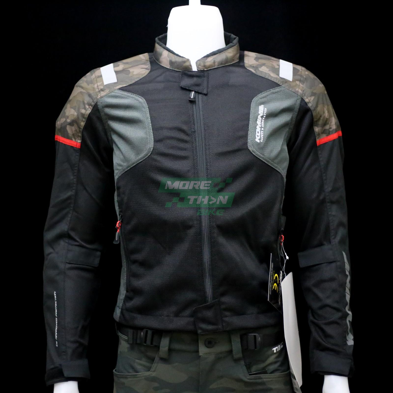 KOMINE JK-116 Protect Half Mesh Jacket 1