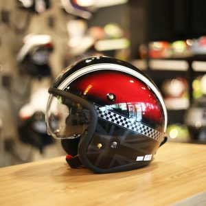 SHOEI J.O Hawker Red