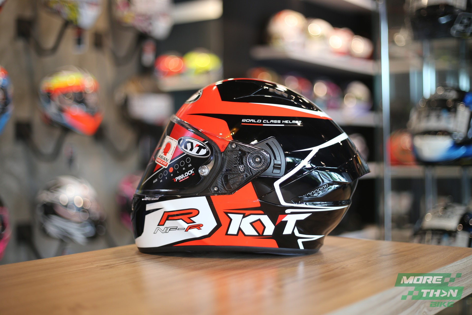 KYT NF-R Track Red 1