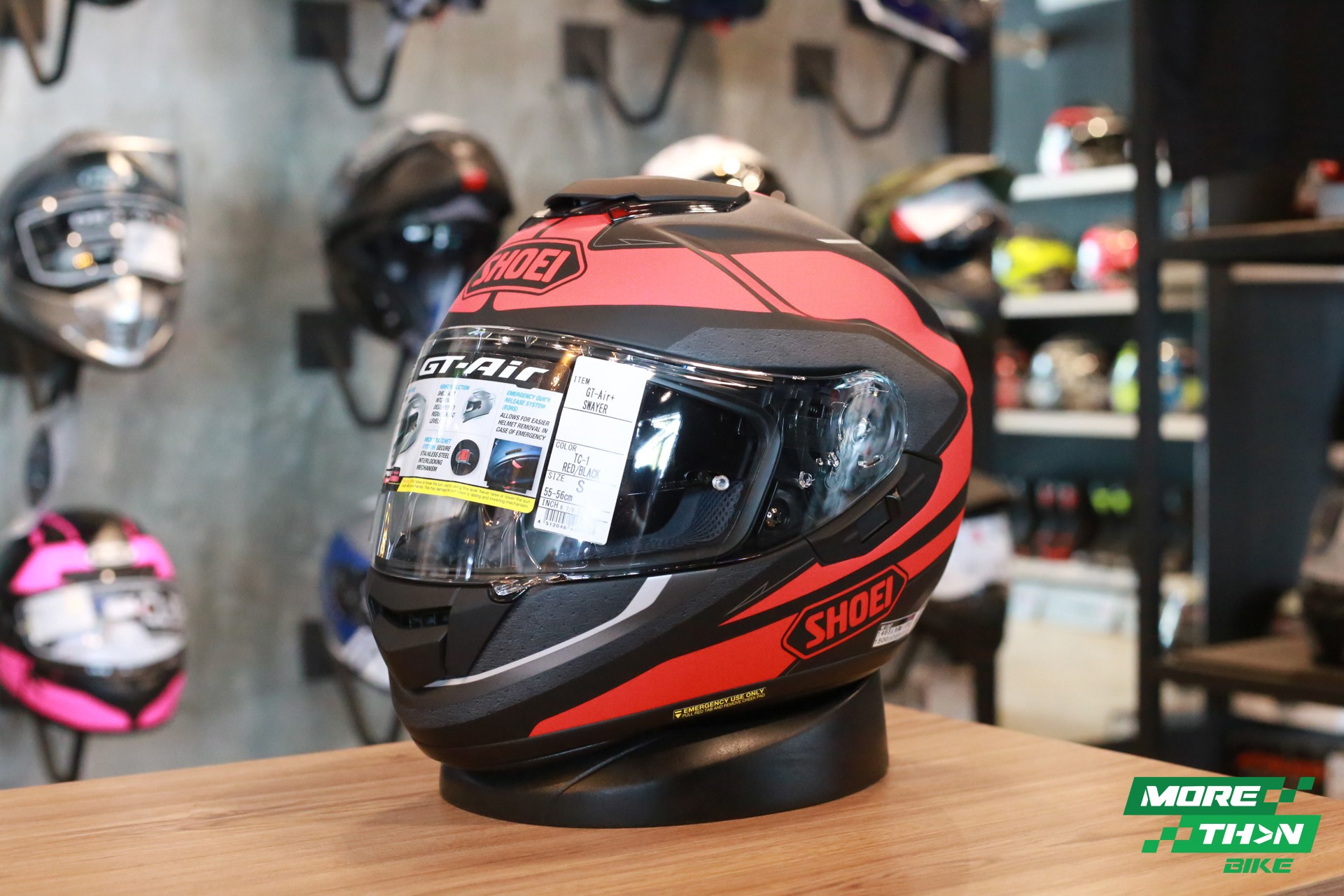 SHOEI GT-Air Swayer Red 5