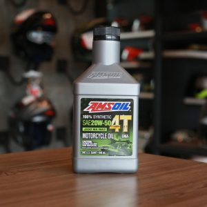 Amsoil 20W-50 4T Performance100% Synthetic Motorcycle Oil