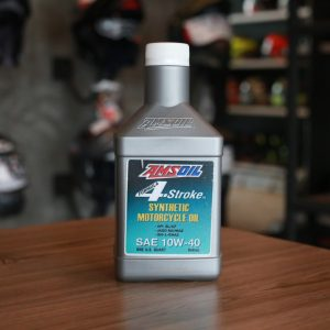 Amsoil Formula 4-Stroke Synthetic 10W-40 Scooter Oil