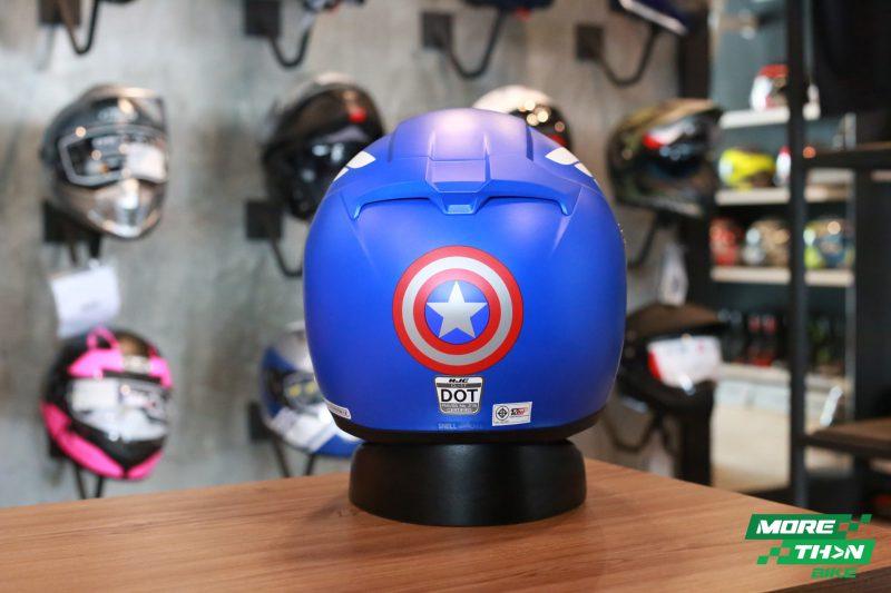HJC CL-17 Captain America Marvel