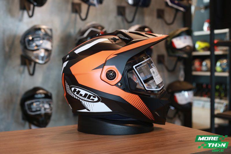 HJC DS-X1 Awing Dual Sport orange
