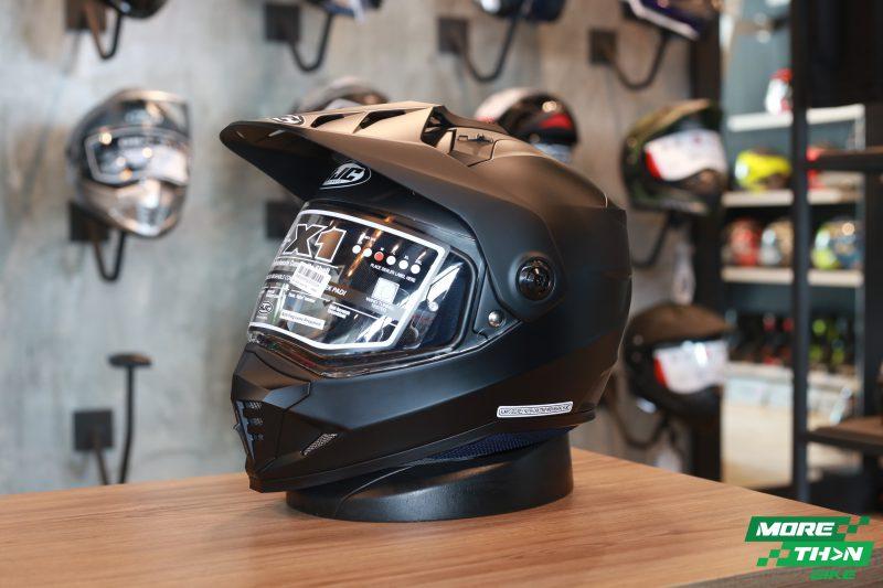 HJC DS-X1 Semi Flat Black