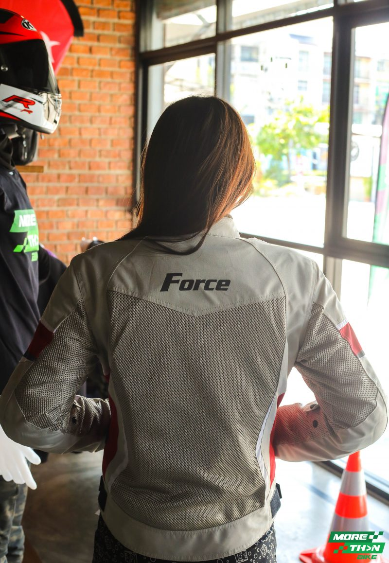 Force Viena White Jacket