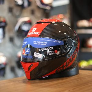 SHARK SPARTAN CARBON SKIN RED