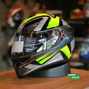 AGV K-3 SV Liquefy Grey Yellow