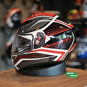 AGV K-3 SV Proton Black Red